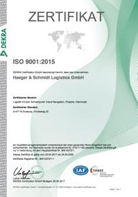 Häger und Schmidt Zertifikate